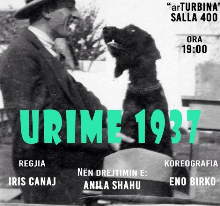 """Shfaqja teatrale """"Urime 1937"""" në kujtim të 80-vjetorit të Migjenit"""